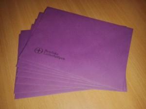 Lila kuvert